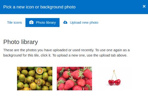Icon picker tab 2